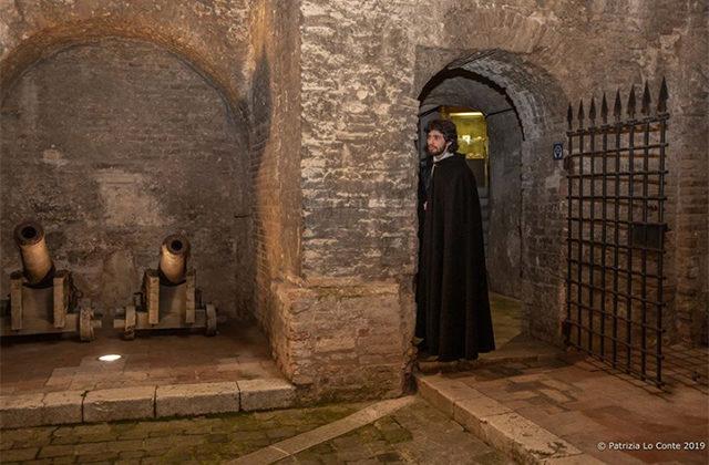 Lo spettacolo immersivo alla Rocca roveresca di Senigallia. Foto di Patrizia Lo Conte