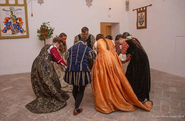 Vita rinascimentale e danze alla rocca roveresca di Senigallia. Foto di Patrizia Lo Conte