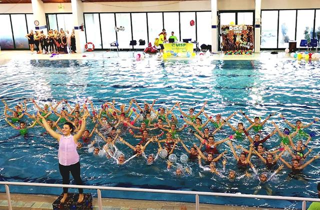 Campionato di nuoto sincronizzato, Uisp soddisfatta