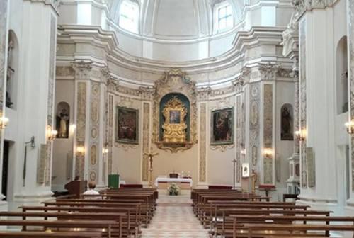 Festa a Morro d'Alba: riaperta la chiesa di San Gaudenzio dopo il sisma 2016