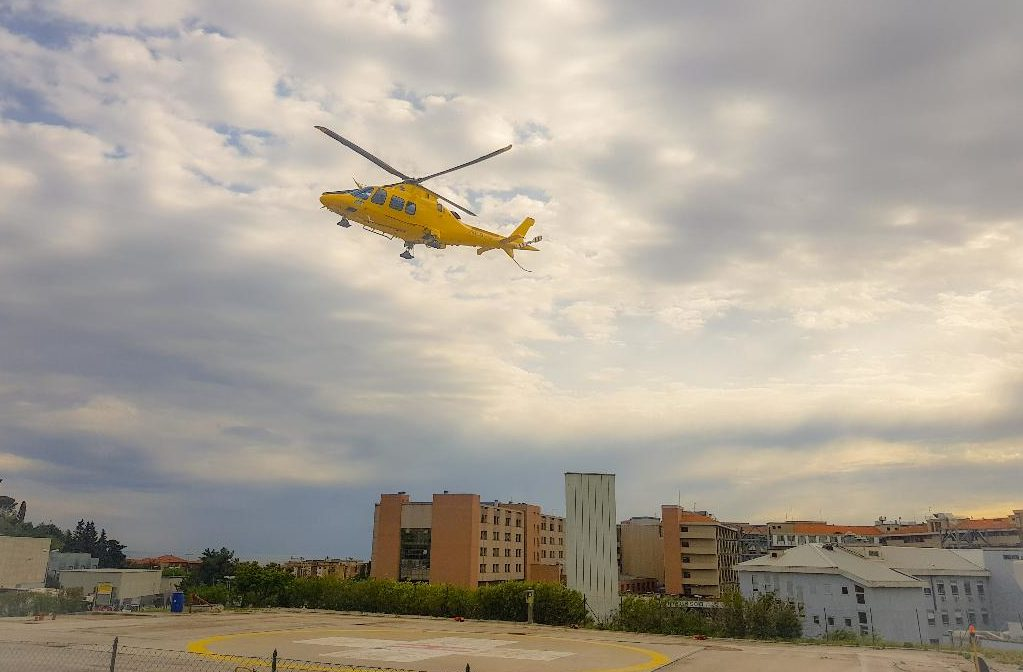 «L'elicottero non sosterà più all'Ospedale di Torrette», Intersindacale all'attacco