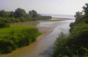 La foce del fiume Potenza
