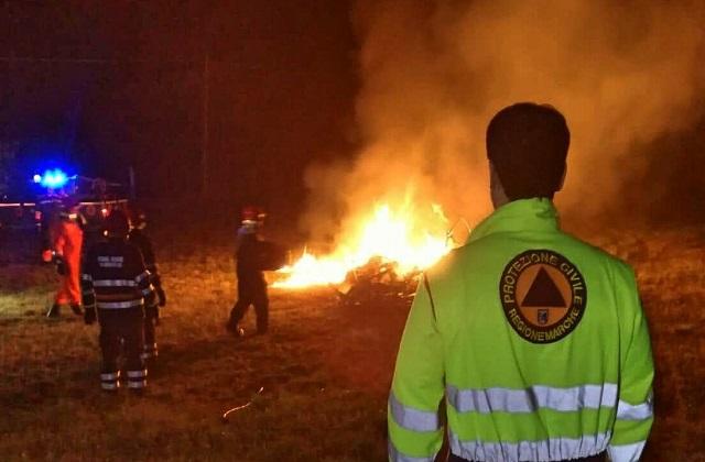 Pericolo incendi boschivi: dal 1 luglio parte l'attività di controllo nel Parco del Conero