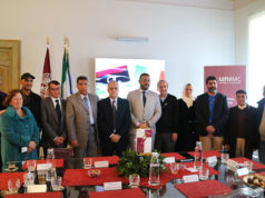 La delegazione della Libia in visita all'università di Macerata sulle missioni archeologiche