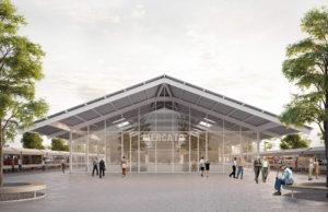 Il progetto che ha vinto il concorso di riqualificazione del mercato di Piazza d'Armi, ad Ancona