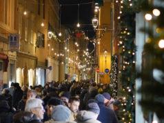 Il natale in centro storico a Fano. Foto Proloco.it