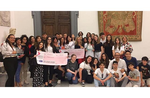 Premiati gli studenti del Corinaldesi per il progetto contro il femminicidio