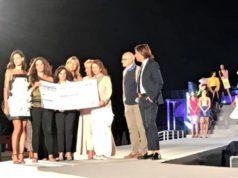 Il momento della premiazione a Senigallia degli studenti dell'Ipsia di Fabriano