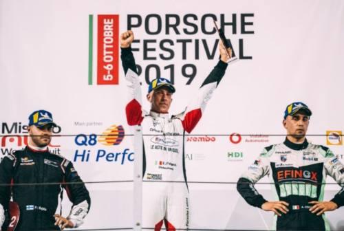 Porsche Carrera Cup, lo jesino Fulgenzi vince a Misano e prepara l'assalto al titolo