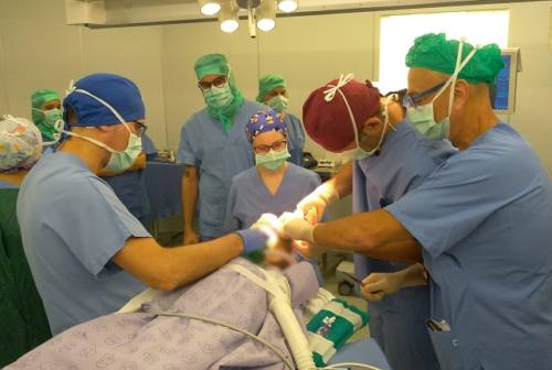 Neurochirurgia, grazie alla beneficenza curata a Torrette una bimba con tumore al cervello