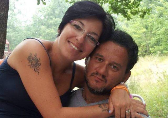 I coniugi Marina Serraiocco e Dino Di Michelangelo