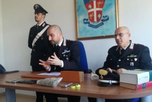 Spaccio di stupefacenti: i carabinieri di Tolentino arrestano due 19enni