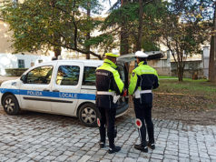 Gli agenti della Polizia Locale di Macerata