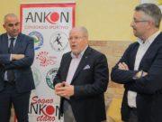 Giorgio Cataldi, presidente del Consorzio Ankon insieme a Claudio Stecconi di UBI Banca