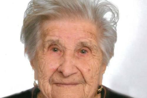 Sassoferrato: si è spenta a 107 anni la nonnina Annunziata Galli