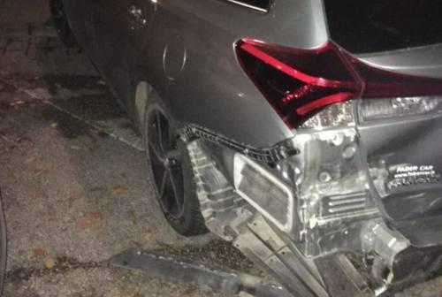 Fabriano: Auto danneggiata, scatta l'appello social