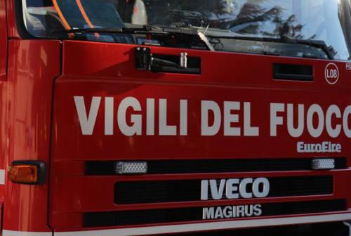 Fabriano: incidente e incendio canna fumaria, doppio intervento dei pompieri