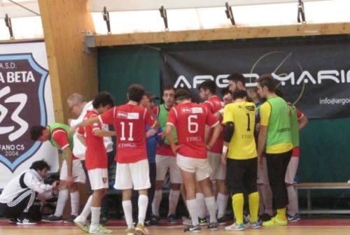 Futsal, Corinaldo kappao con l'Etabeta, Audax vince il derby di Senigallia