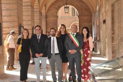 Osimo, inaugurato il loggiato per la Festa del patrono. Stop al trofeo Lamonica