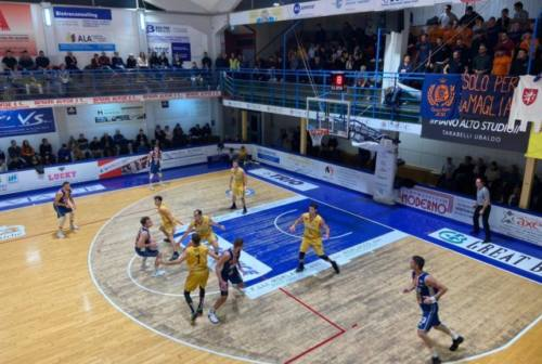 L'Aurora cade nel derby a Montegranaro