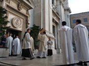 Il libro dei Vangeli al santuario di Loreto