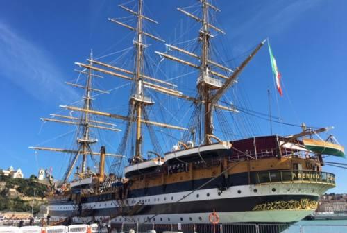 L'Amerigo Vespucci resta un giorno in più: visite anche lunedì pomeriggio