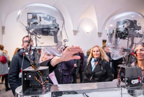 Arte, robotica e interattività: la mostra è servita (alla Rocca di Senigallia)