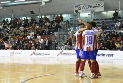 Italservice Pesaro a valanga sul Pescara: biancorossi campioni d'inverno