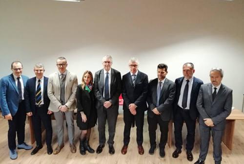 Marche Nord, presentati i cinque nuovi primari. Maria Capalbo: «Elevate professionalità»