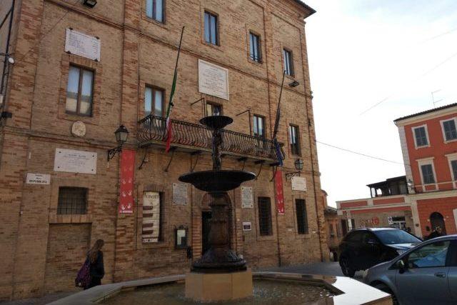 Il Municipio di Castelfidardo