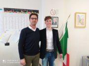 Paolo Marchetti con il professor Gabriele Calducci