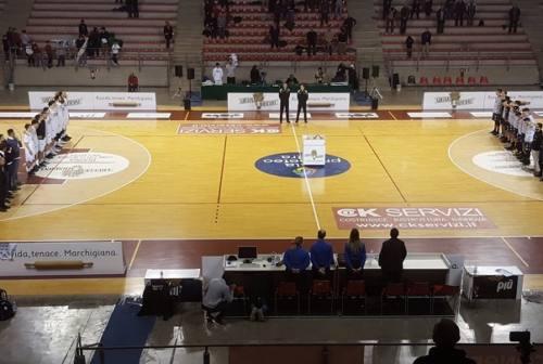 l derby al Campetto Basket Ancona, la Sutor va KO