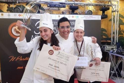Loreto, l'alberghiero è medaglia di bronzo al campionato italiano di pasticceria