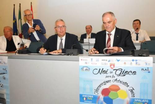 Macroregione: firmato protocollo tra Regione Marche e Spalatino Dalmata per la promozione dei territori
