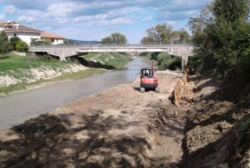 Loreto, in corso i lavori di manutenzione del Musone