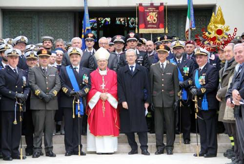 Celebrata ad Ancona Santa Barbara, patrona di Marina Militare e Vigili del fuoco (FOTO)
