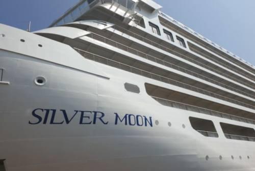 """Fincantieri: varata ad Ancona """"Silver Moon"""" (FOTO)"""