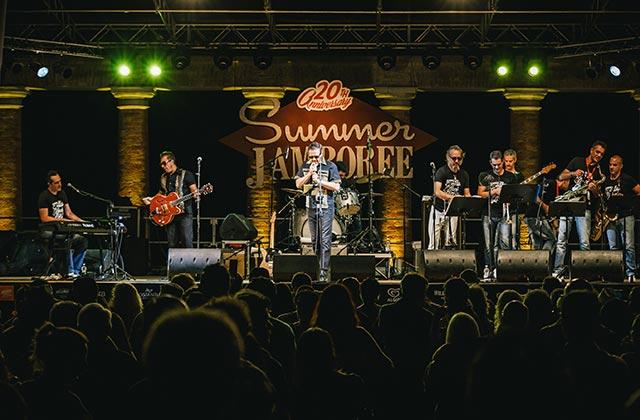 Summer Jamboree a Senigallia, The Rock 'O Rama Band. PH: Beatrice Perticaroli