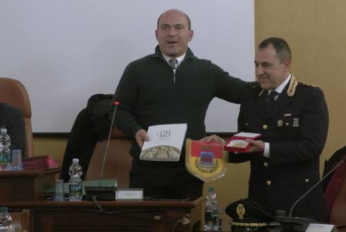 Osimo, il dirigente del Commissariato di polizia Todaro saluta la città