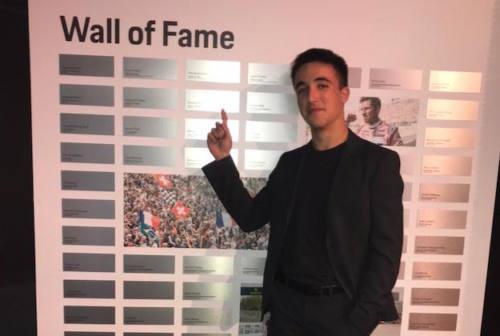 Il pilota Simone Riccitelli premiato anche in Germania