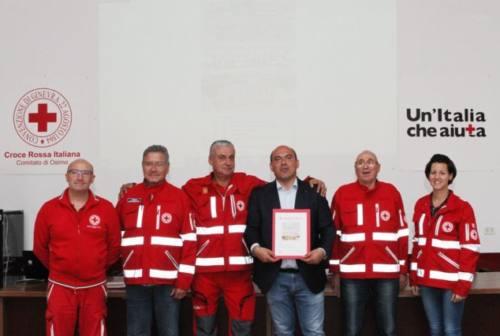 Osimo, la Croce rossa inaugura una sala per i terremotati