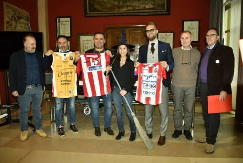 """Italservice, Vuelle e Vis Pesaro: presentato l'evento benefico """"Befana Biancorossa"""""""
