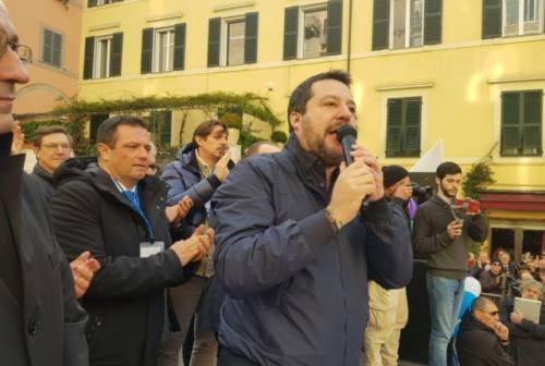 Salvini a Jesi, lo sfogo di un cittadino contro «la sinistra che resta a casa»