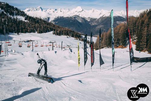 Al via il tour invernale: da Senigallia gli Xmasters si spostano tra Alpi e Appennino