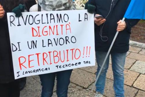 Da quasi un anno senza stipendio, sciopero lavoratori della Tecnogest