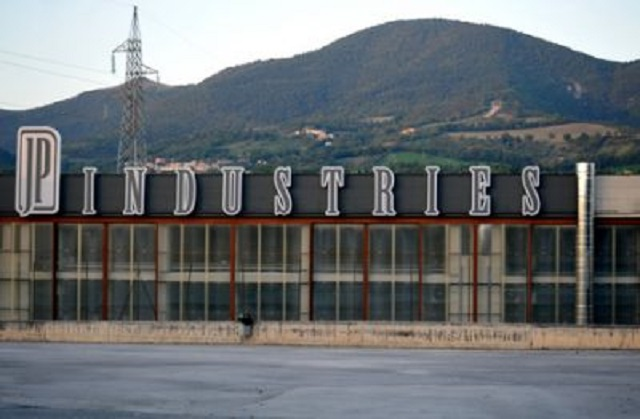 Lo stabilimento della JP Industries