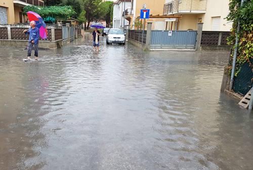 Senigallia, allagamenti frequenti in via Colombo. Nel mirino i lavori post alluvione