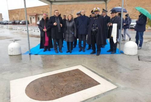 Porto di Ancona: inaugurata l'opera dedicata a San Francesco (FOTO)