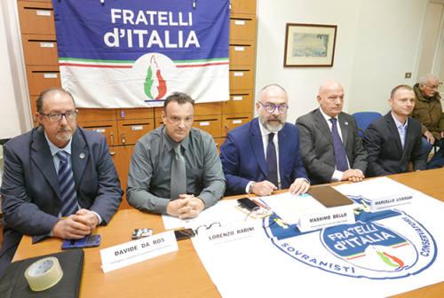 Fratelli d'Italia: «Nessuno ha il diritto di escluderci dal centrodestra». E lancia il nome di Canafoglia