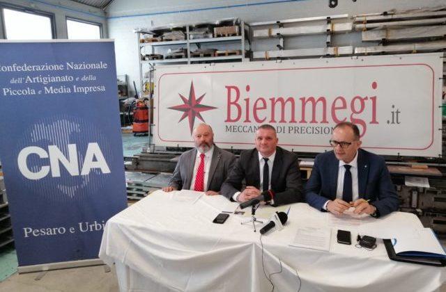 La Cna ha presentato i dati economici del 2019 per le imprese della provincia di Pesaro-Urbino L'azienda Biemmegi di Pesaro
